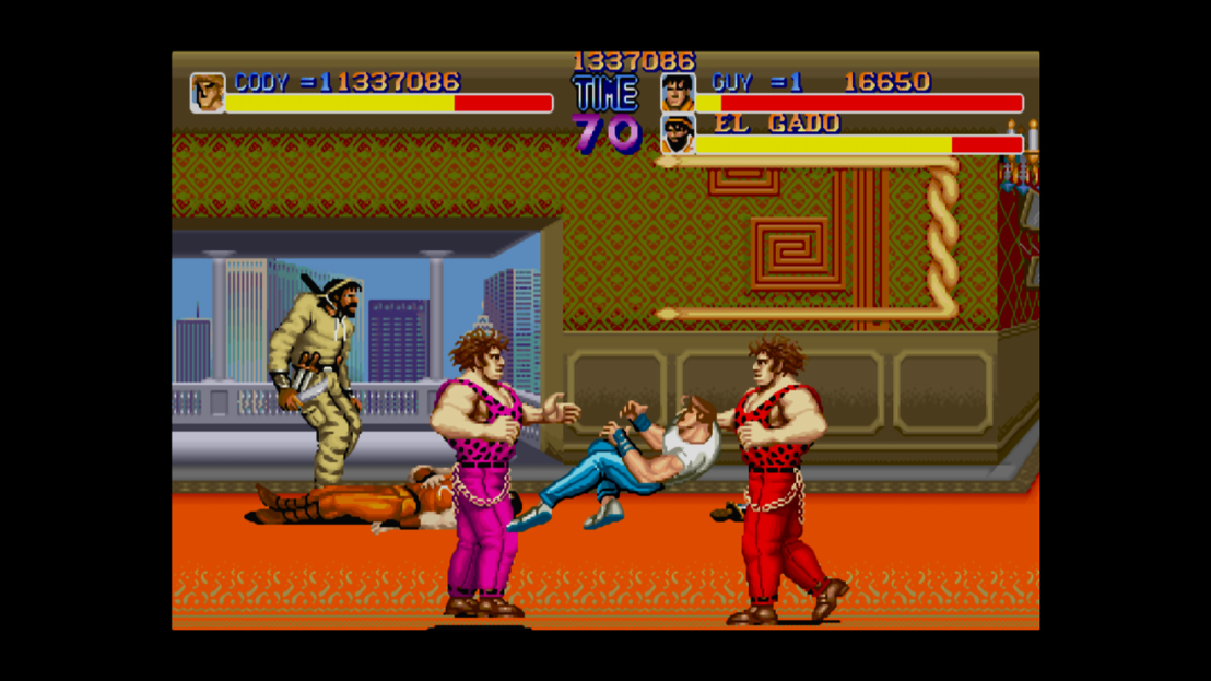 Final fight two player